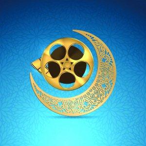 Filmgoers attend Kourosh Cineplex in western Tehran during a Ramadan night in 2015.(Graphic Design: vahid sabet)
