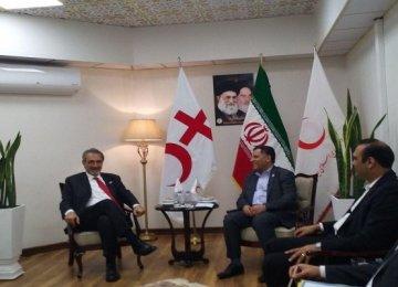 IFRC President in Tehran