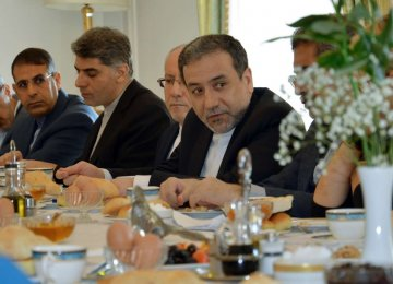 Araqchi in Europe to Push for JCPOA Implementation