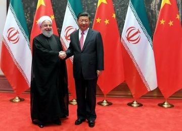 Shared Interests, US Sanctions Pulling Tehran, Beijing Closer