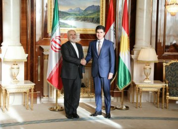 Iran a Reliable Partner for Iraqi Kurdistan