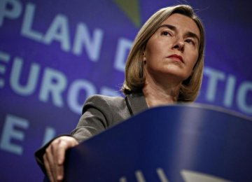 Mogherini:  Protecting EU Economic Interests No Mean Feat