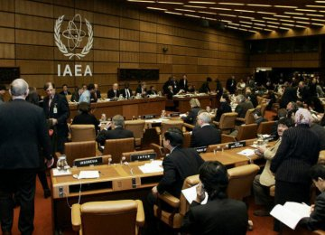 The IAEA statement says the agency had no credible indications of activities in Iran relevant to the development  of a nuclear explosive device after 2009.