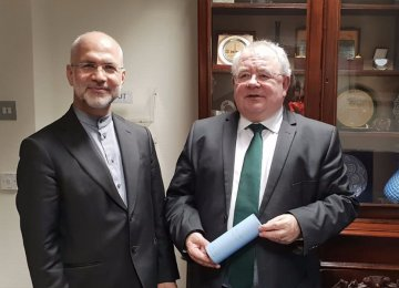 Irish Parliament Backs Stronger Ties With Tehran
