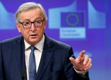 EU Commission chief Jean-Claude Juncker