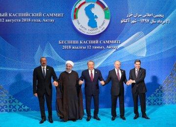 Iran Wants 20% of Caspian Seabed