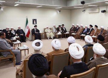Leader Tells Officials: Respect Opposing Views