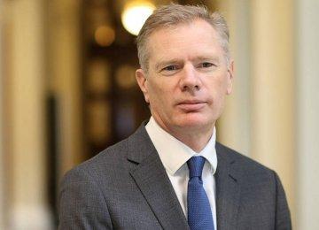 London's New Envoy Sees Positive Path Ahead