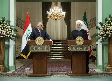 Iran, Iraq Determined to Kick-Start Joint Projects