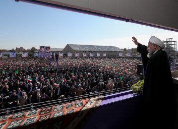 Rouhani: US Taking Economic Revenge on Iran Over Regional Setbacks