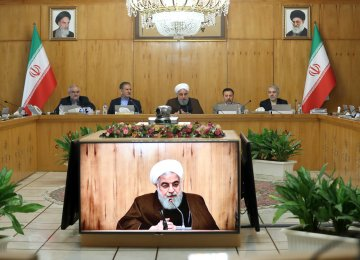 Rouhani: Enhanced Trade With Neighbors Vital in Sanctions Era
