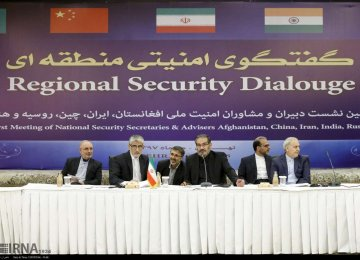 Tehran Hosts Regional Security Confab