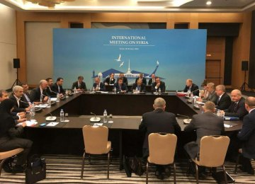 Outcome of Syria Meeting Positive