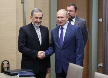 Leader's Advisor Confers  With Russia's President