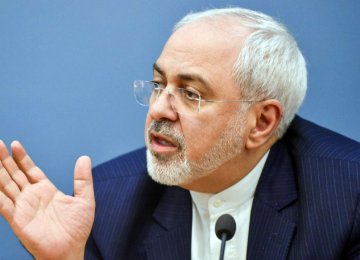 Zarif: US Should Be Held Accountable for Crimes Against Humanity