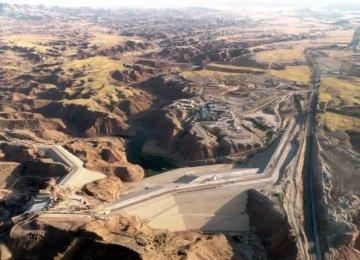 Konjancham Dam in Ilam 85% Complete