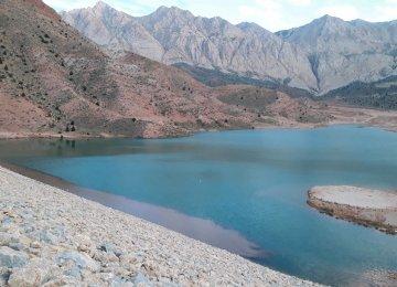 Shahroud Dam About Half Empty