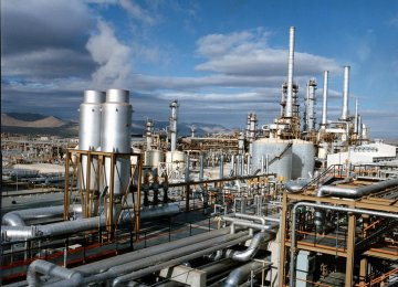 Gas Supply to Iran Petrochem Plants Rising