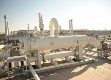 Iran Gas Output Capacity 810 mcm/d