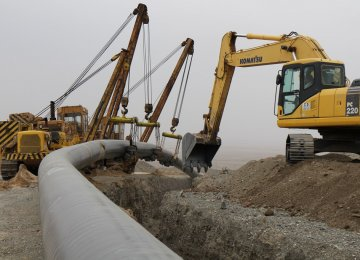 Iran: 400km Gas Pipelines Laid in 8 Months