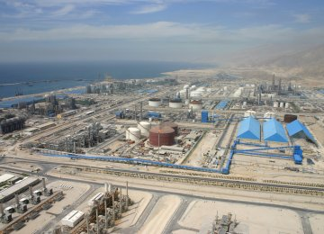 SPGC Produces 50% of  Iran's Hydrocarbons