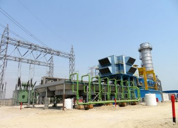 Hormozgan Combined Cycle Power Plant Connected to National Grid