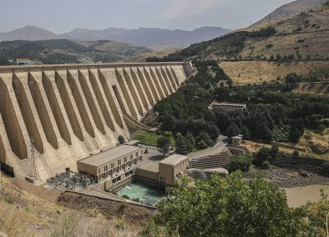 Tehran Hydropower Output Declines