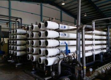 Water Desalination Capacity Expanding in Hormozgan