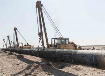 Iran Gas Trunkline Expansion on Track