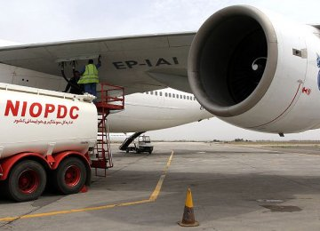 Iran's Jet Fuel Use Declines by 1 Million Liters