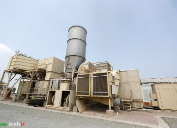 Kish Power Plants Cut Diesel Use