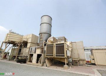 Kish Power Plants Cut Diesel Use