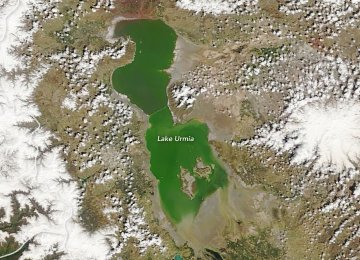 Mission to Revive Urmia Lake Making Progress