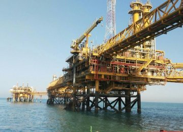 Iran: Offshore Oil Production, Exports Continue