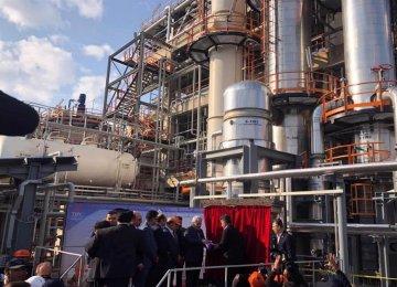 Indigenized Petrochemical Plant Opens 2nd Phase