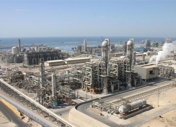 $1.5 Billion Petrochemical Plant Opens in Pars Economic Energy Zone