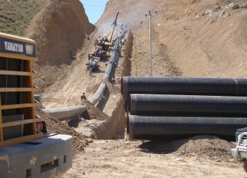 Iran's IGAT-9 Capacity Boosted by 60 Million Cubic Meters