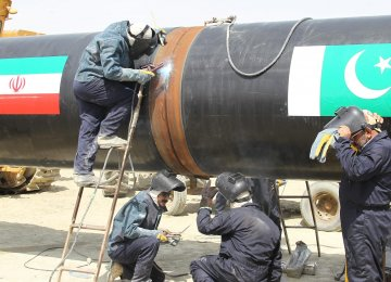 Pakistan Gov't Says Wants to Complete Iran-Pakistan Gas Pipeline