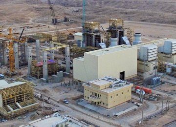 31 Power Plants Under Construction in Iran