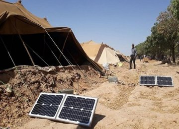 Solar Power for Iranian Nomads