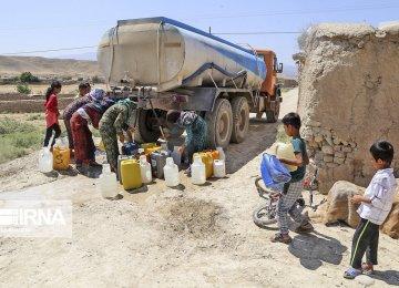 Sistan Rural Regions Lack Piped Water