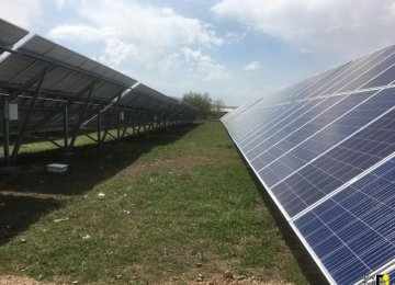 Largest Solar Panel Plant in Ardabil Nearing Completion