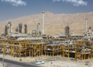 Iran's South Pars Gas Field Phases 22-24 Production Up