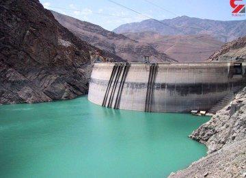 Dam Water Levels Plunge