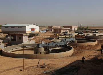 Second Wastewater Treatment Plant for Shiraz
