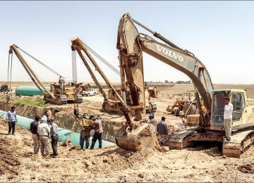 Yazd Rural Water Infrastructure Expanding