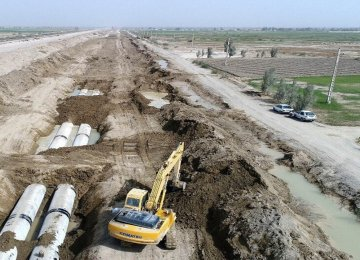 15 Water, Wastewater Projects Come on Stream in Yazd