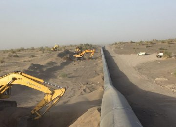 Zahedan Gas Infrastructure Expanding