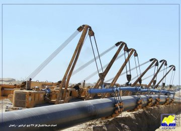 Connecting Baluchestan Cities, Power Plants to Gas Network