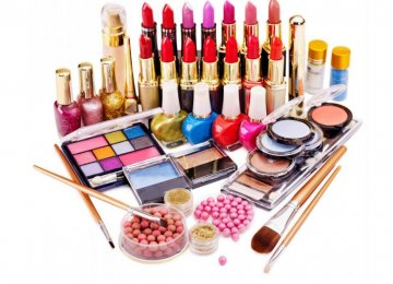 Cosmetics Imports at $11m in  One Month